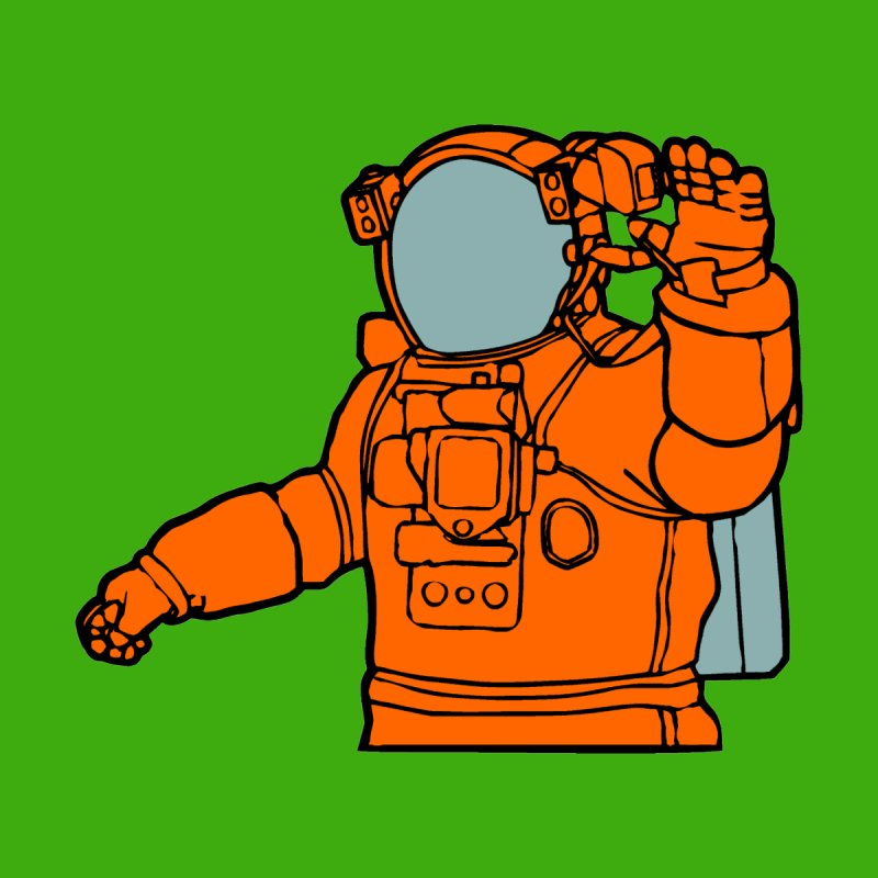 COSMONAUT by THE ORANGE ZEROMAX STREET COUTURE