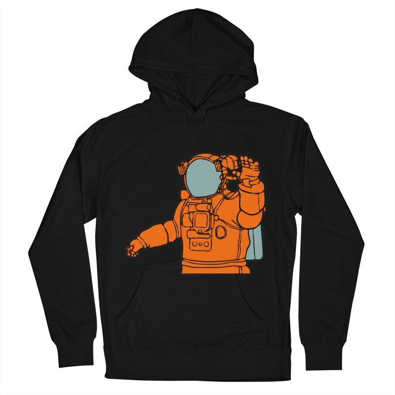 COSMONAUT Men's Pullover Hoody by THE ORANGE ZEROMAX STREET COUTURE