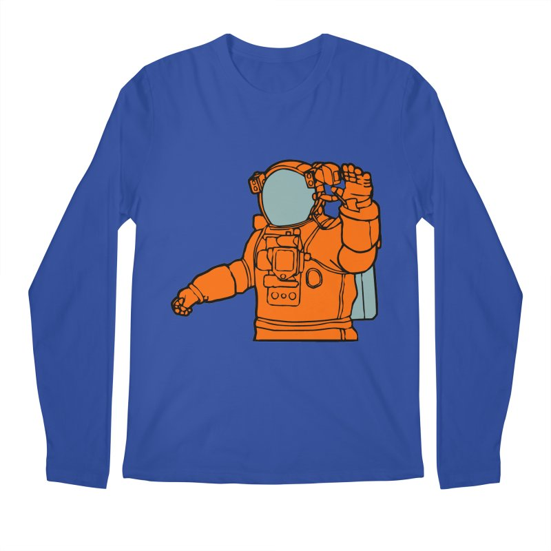 COSMONAUT Men's Longsleeve T-Shirt by THE ORANGE ZEROMAX STREET COUTURE