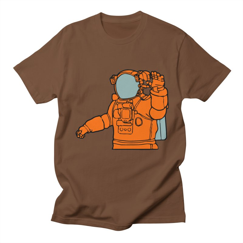 COSMONAUT Men's T-Shirt by THE ORANGE ZEROMAX STREET COUTURE