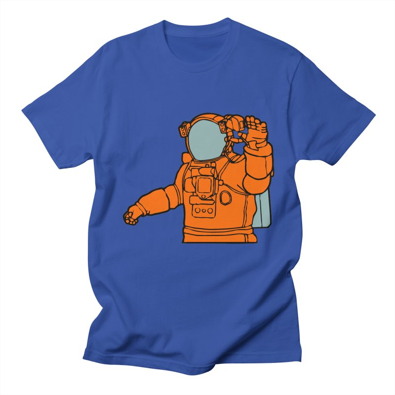 COSMONAUT Men's T-shirt by THE ORANGE ZEROMAX STREET COUTURE