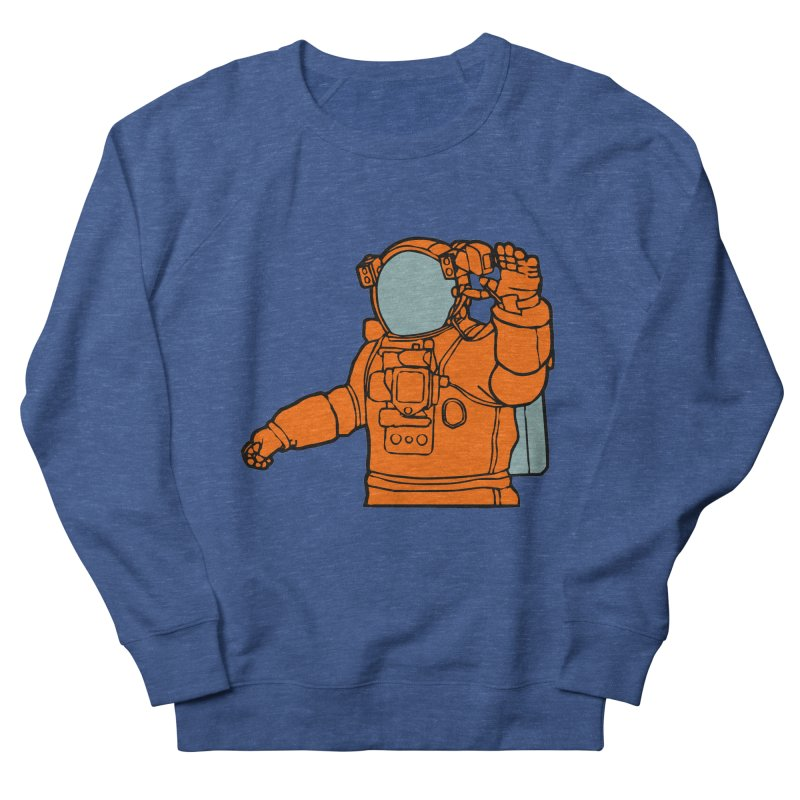 COSMONAUT Women's Sweatshirt by THE ORANGE ZEROMAX STREET COUTURE