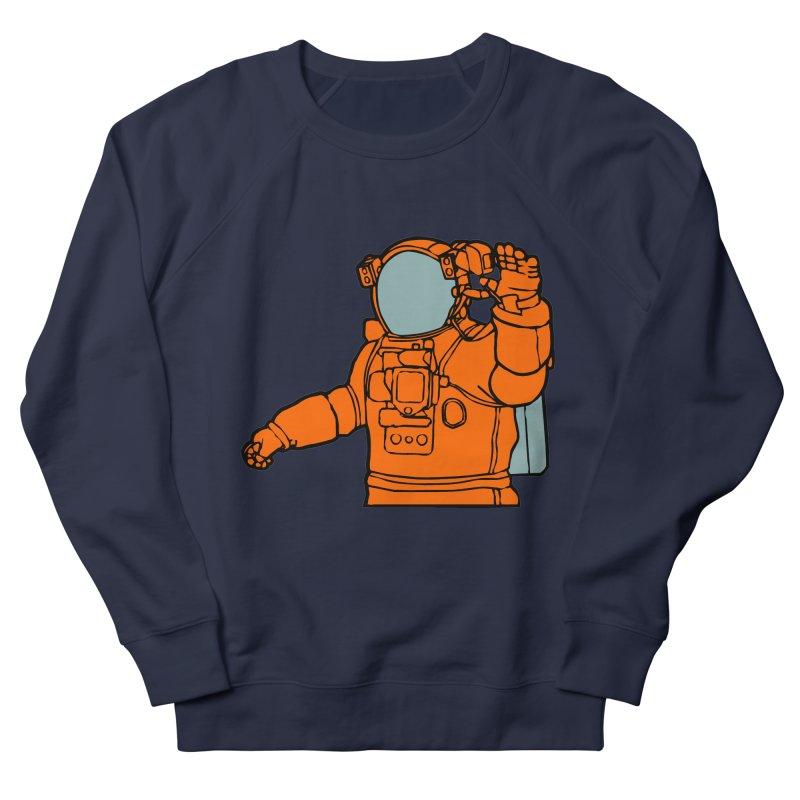 COSMONAUT Women's Sweatshirt by THE ORANGE ZEROMAX STREET COUTURE