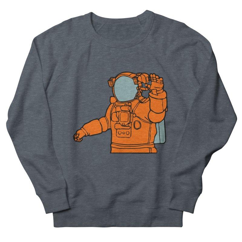 COSMONAUT Men's Sweatshirt by THE ORANGE ZEROMAX STREET COUTURE