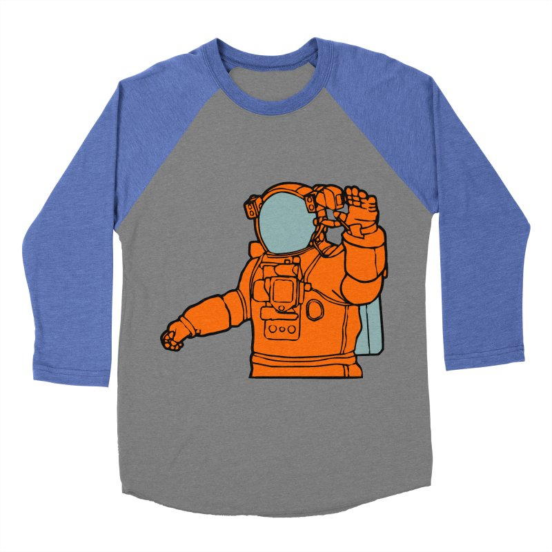 COSMONAUT Men's Baseball Triblend T-Shirt by THE ORANGE ZEROMAX STREET COUTURE