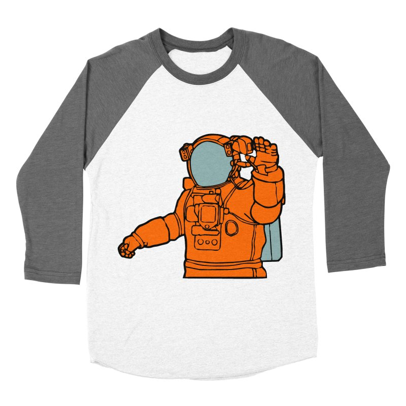 COSMONAUT Men's Baseball Triblend T-Shirt by THE ORANGE ZEROMAX STREET COUTURE