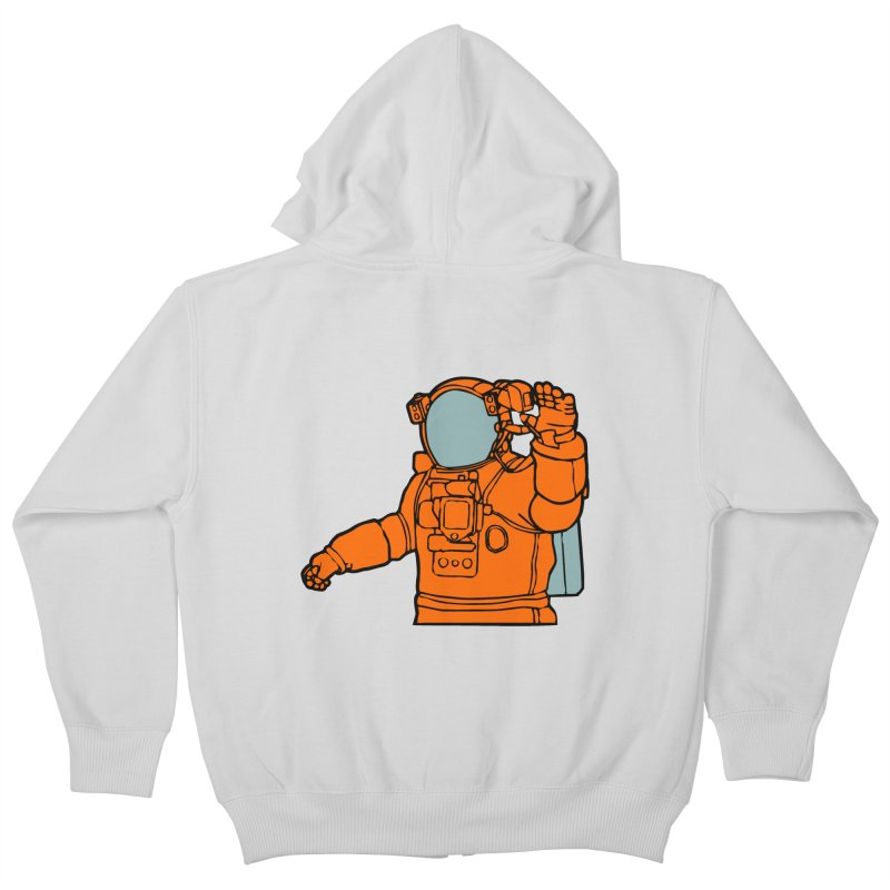 COSMONAUT Kids Zip-Up Hoody by THE ORANGE ZEROMAX STREET COUTURE