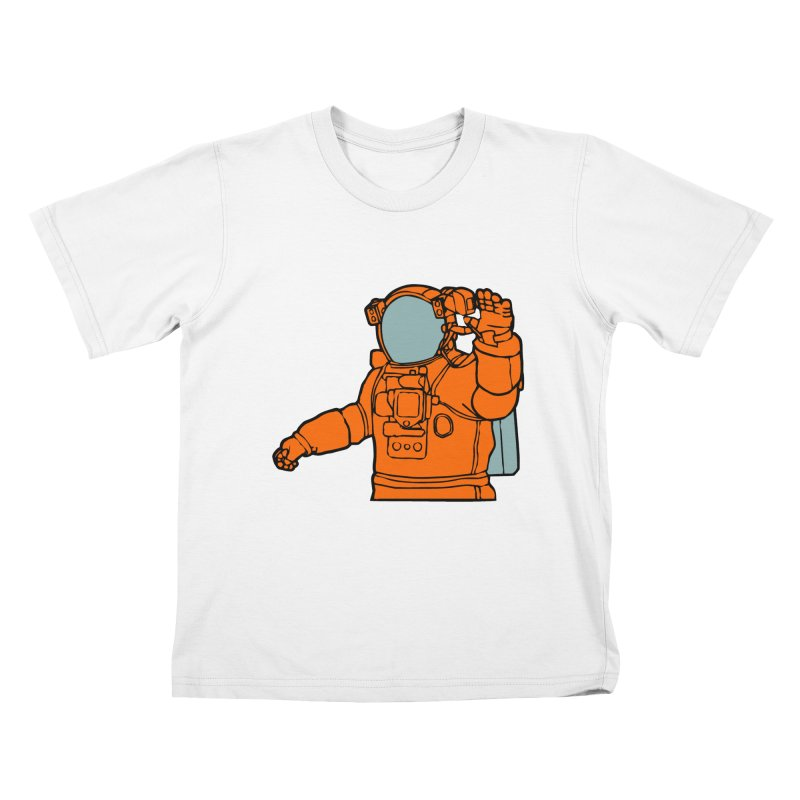 COSMONAUT Kids T-shirt by THE ORANGE ZEROMAX STREET COUTURE