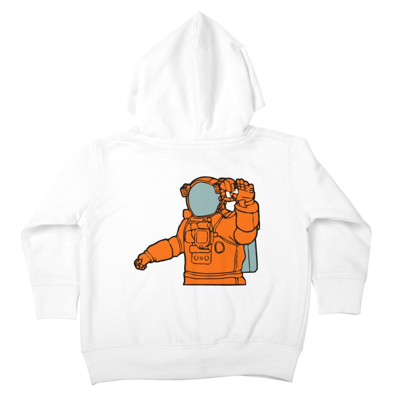 COSMONAUT Kids Toddler Zip-Up Hoody by THE ORANGE ZEROMAX STREET COUTURE