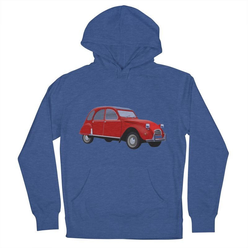 VOITURE Women's Pullover Hoody by THE ORANGE ZEROMAX STREET COUTURE