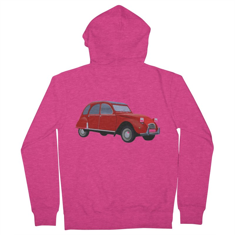VOITURE Women's Zip-Up Hoody by THE ORANGE ZEROMAX STREET COUTURE