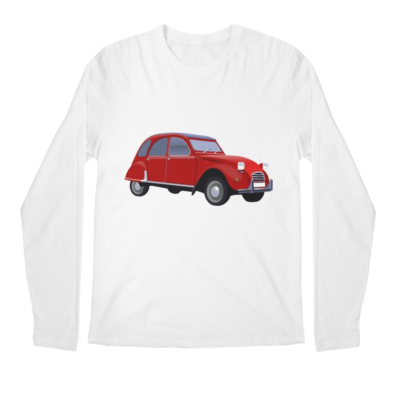 VOITURE Men's Longsleeve T-Shirt by THE ORANGE ZEROMAX STREET COUTURE