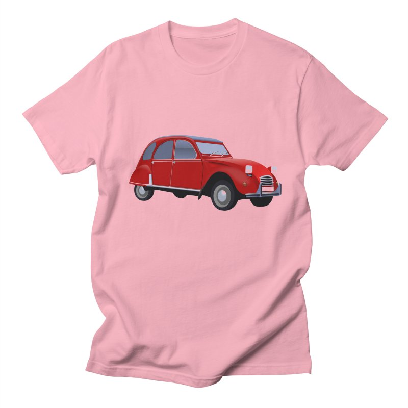 VOITURE Men's T-shirt by THE ORANGE ZEROMAX STREET COUTURE