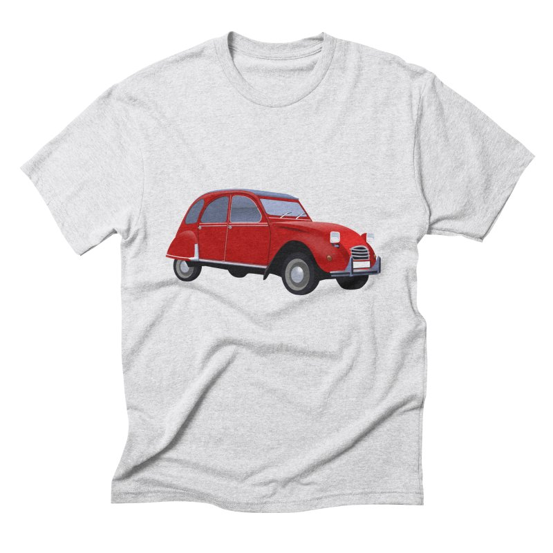 VOITURE Men's Triblend T-Shirt by THE ORANGE ZEROMAX STREET COUTURE