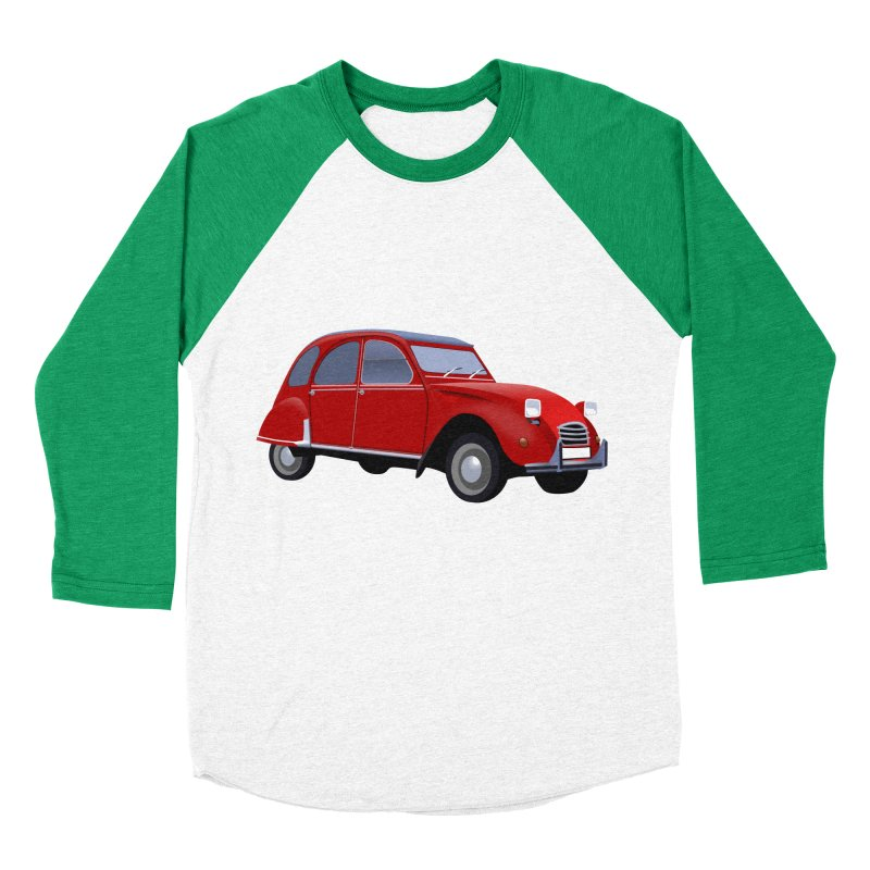 VOITURE Men's Baseball Triblend T-Shirt by THE ORANGE ZEROMAX STREET COUTURE