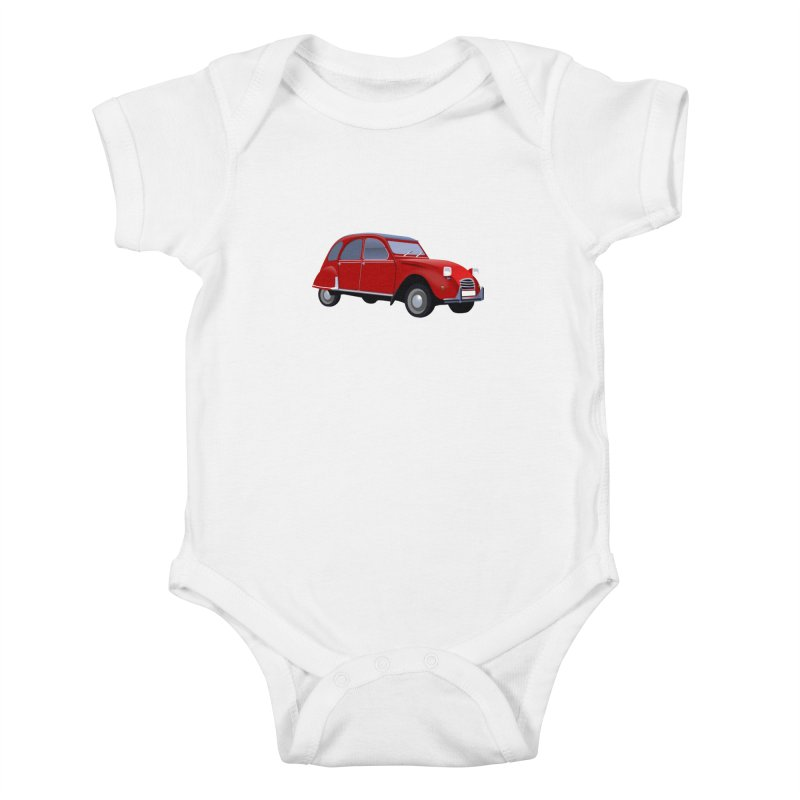 VOITURE Kids Baby Bodysuit by THE ORANGE ZEROMAX STREET COUTURE