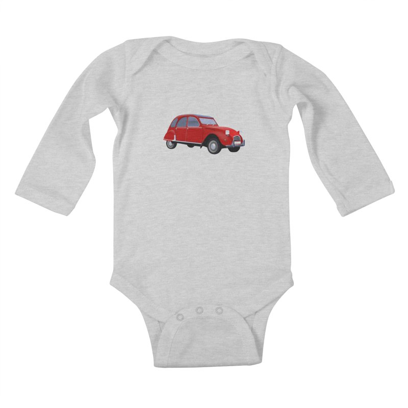 VOITURE Kids Baby Longsleeve Bodysuit by THE ORANGE ZEROMAX STREET COUTURE