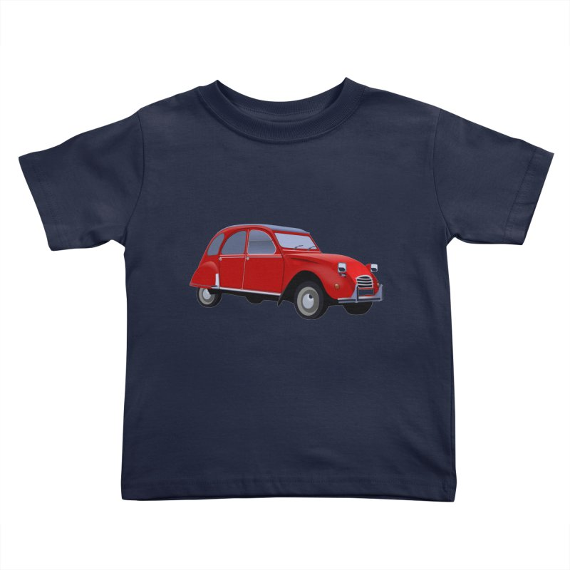 VOITURE Kids Toddler T-Shirt by THE ORANGE ZEROMAX STREET COUTURE