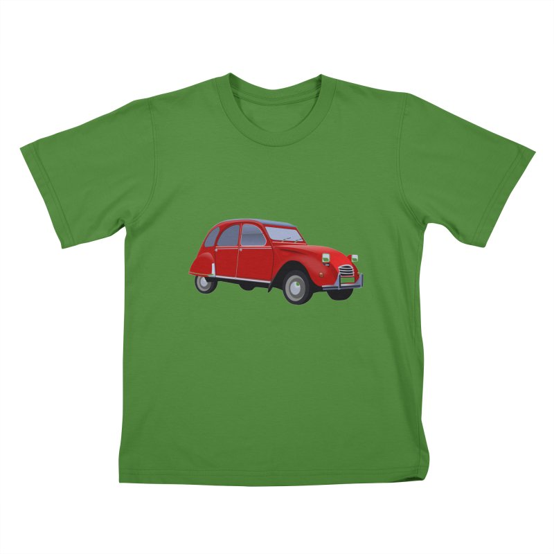 VOITURE Kids T-Shirt by THE ORANGE ZEROMAX STREET COUTURE
