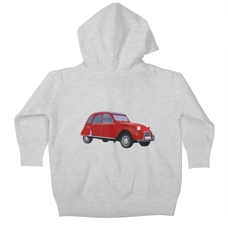 VOITURE Kids Baby Zip-Up Hoody by THE ORANGE ZEROMAX STREET COUTURE