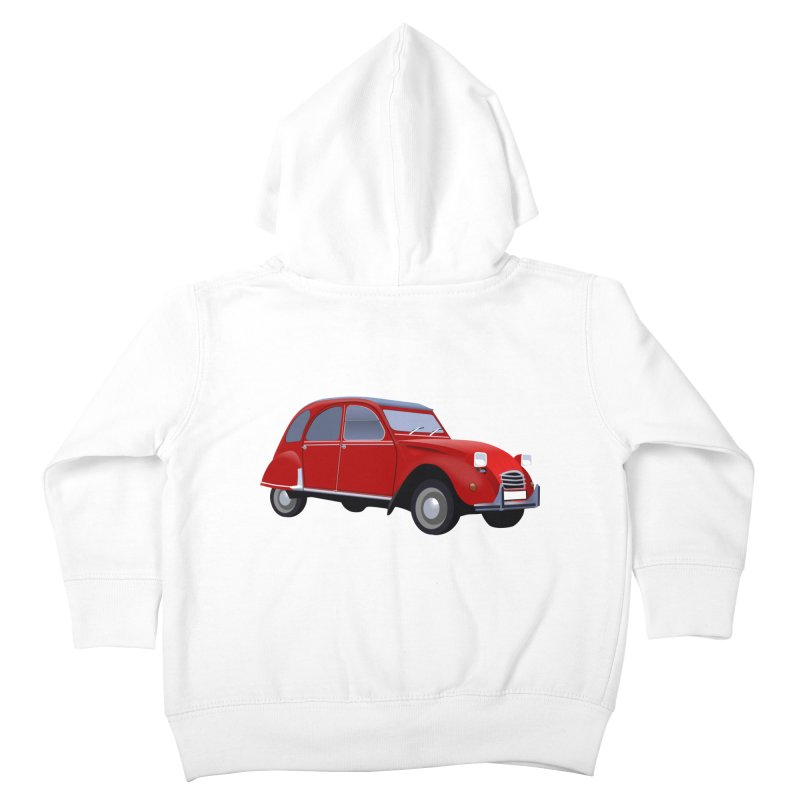 VOITURE Kids Toddler Zip-Up Hoody by THE ORANGE ZEROMAX STREET COUTURE