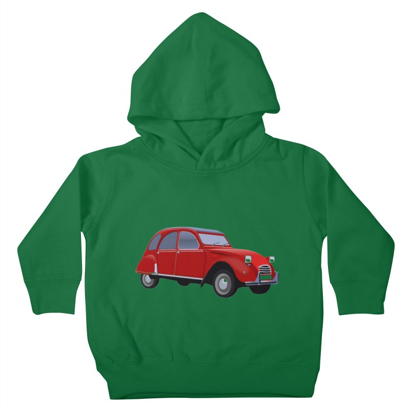 VOITURE Kids Toddler Pullover Hoody by THE ORANGE ZEROMAX STREET COUTURE