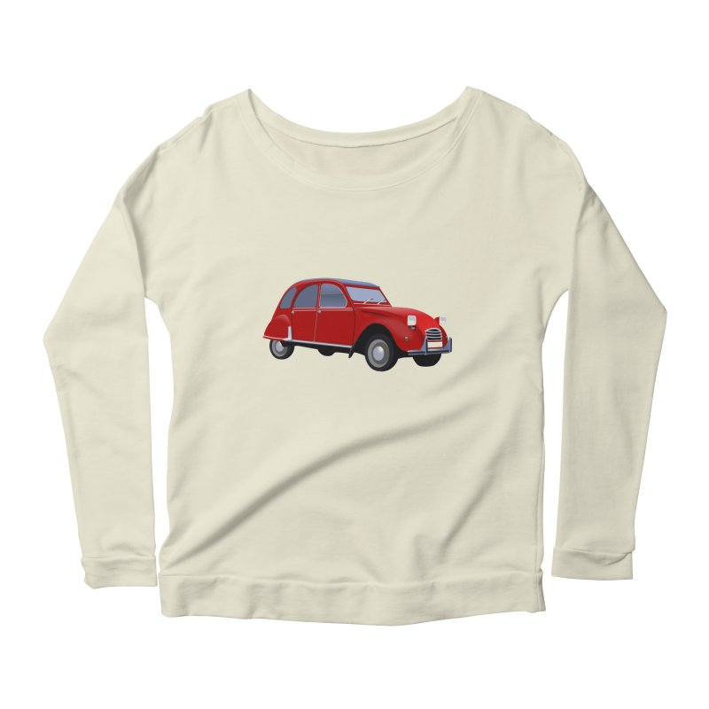 VOITURE Women's Longsleeve Scoopneck  by THE ORANGE ZEROMAX STREET COUTURE