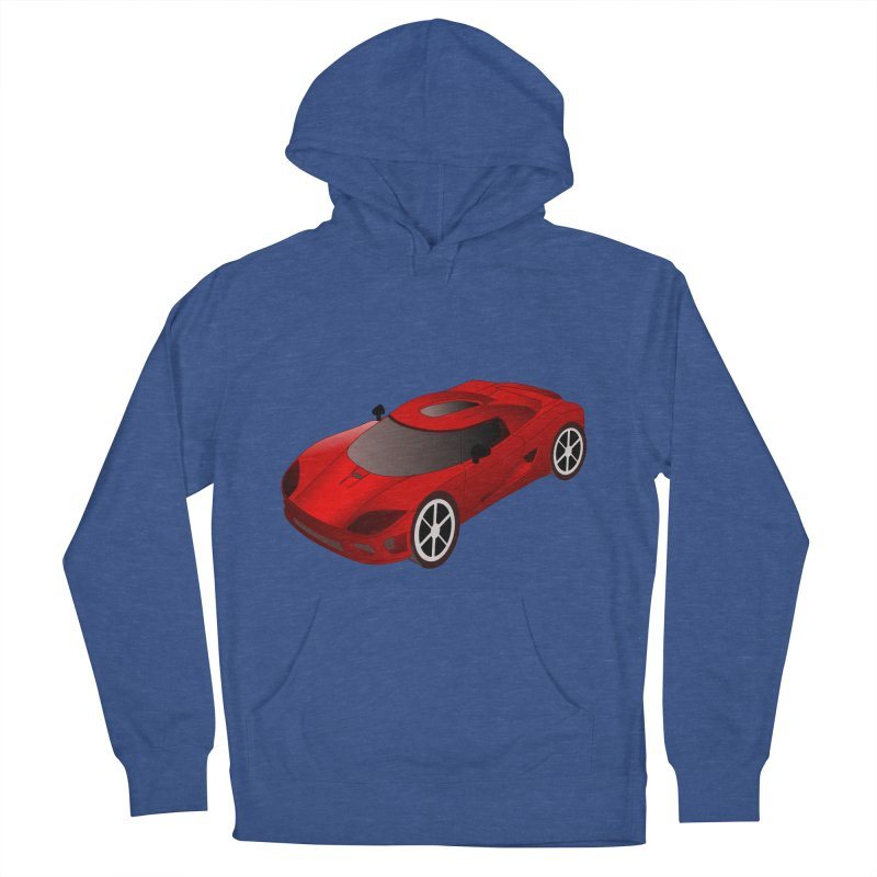 VOITURE-2 Women's Pullover Hoody by THE ORANGE ZEROMAX STREET COUTURE