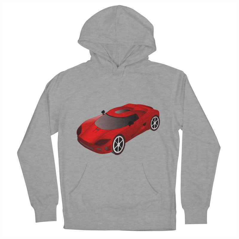 VOITURE-2 Men's Pullover Hoody by THE ORANGE ZEROMAX STREET COUTURE