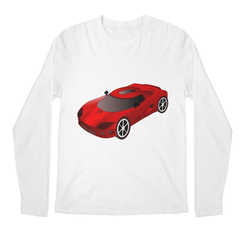VOITURE-2 Men's Longsleeve T-Shirt by THE ORANGE ZEROMAX STREET COUTURE