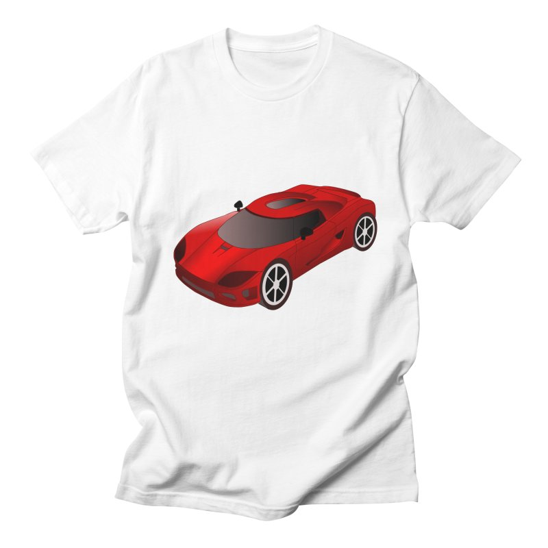 VOITURE-2 Men's T-Shirt by THE ORANGE ZEROMAX STREET COUTURE
