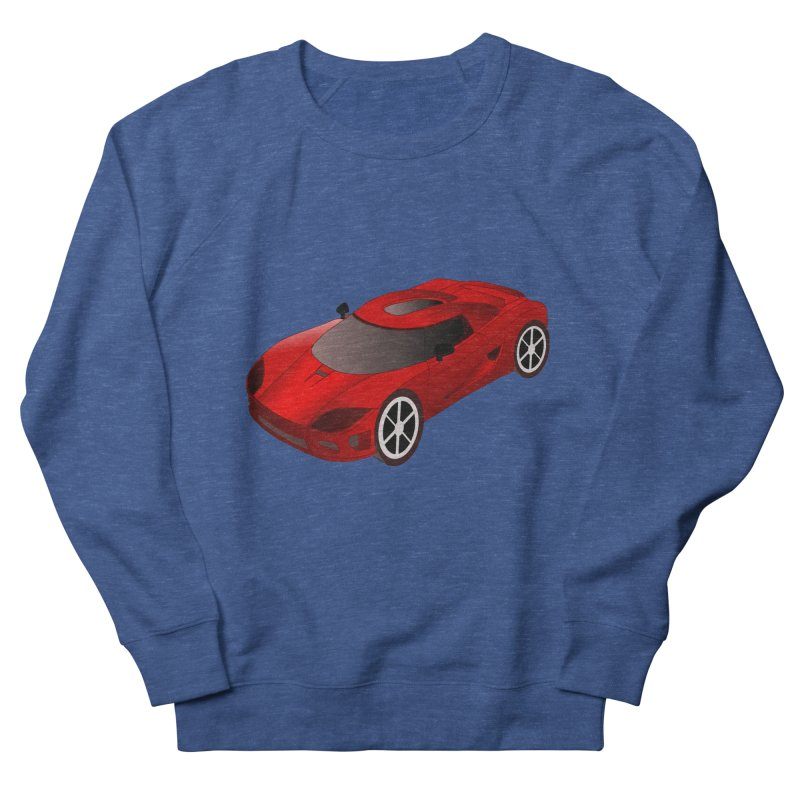 VOITURE-2 Women's Sweatshirt by THE ORANGE ZEROMAX STREET COUTURE