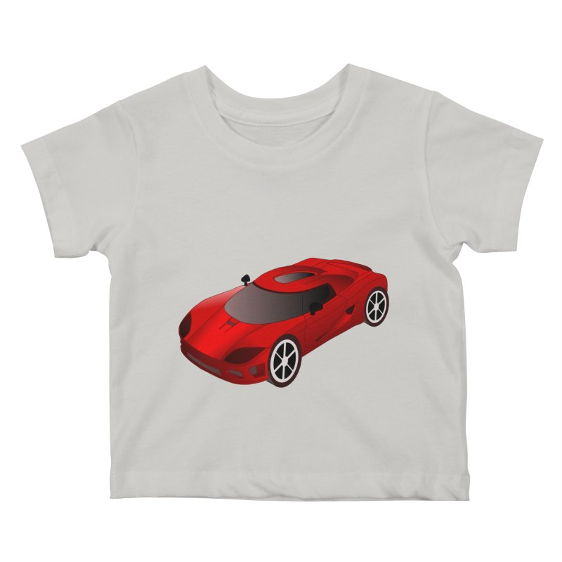 VOITURE-2 Kids Baby T-Shirt by THE ORANGE ZEROMAX STREET COUTURE