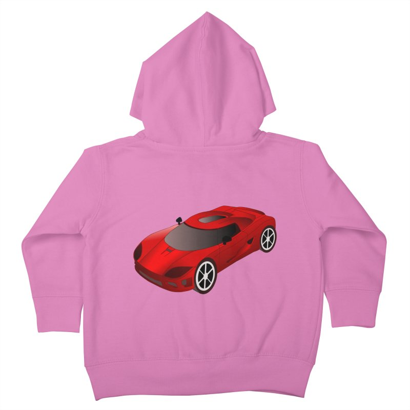 VOITURE-2 Kids Toddler Zip-Up Hoody by THE ORANGE ZEROMAX STREET COUTURE