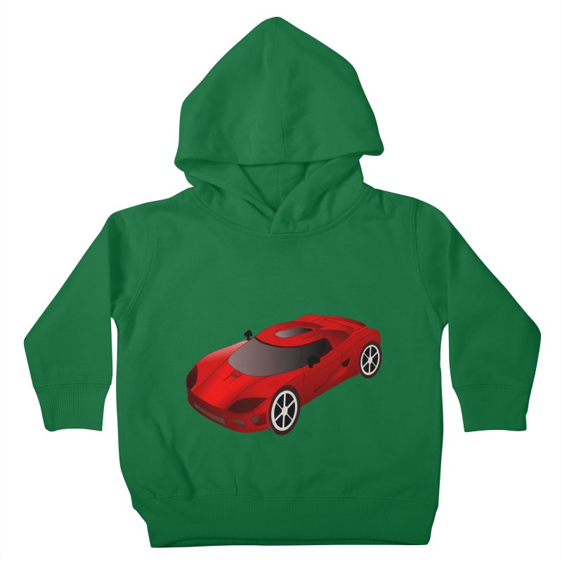 VOITURE-2 Kids Toddler Pullover Hoody by THE ORANGE ZEROMAX STREET COUTURE
