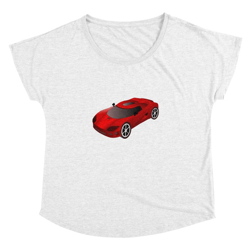 VOITURE-2 Women's Dolman by THE ORANGE ZEROMAX STREET COUTURE