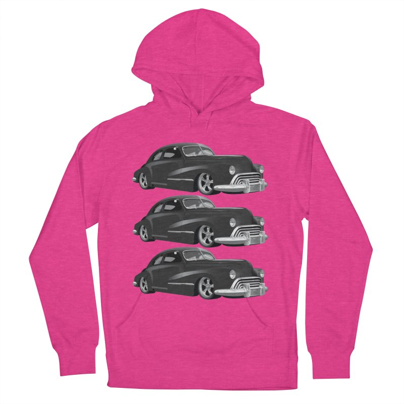 VOITURE-3 Women's Pullover Hoody by THE ORANGE ZEROMAX STREET COUTURE