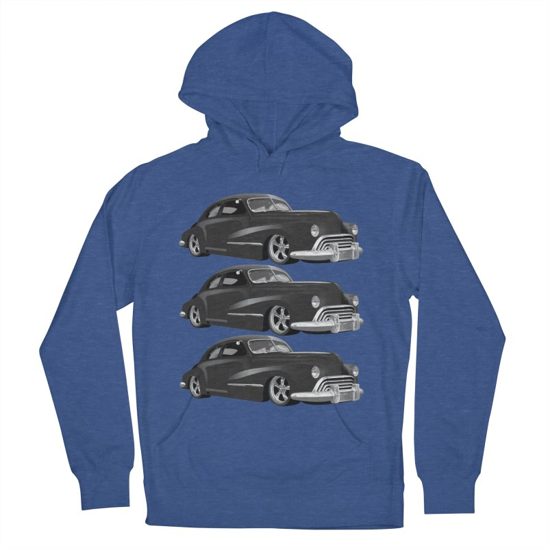 VOITURE-3 Men's Pullover Hoody by THE ORANGE ZEROMAX STREET COUTURE