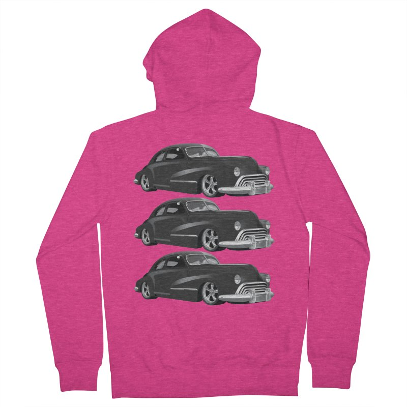 VOITURE-3 Women's Zip-Up Hoody by THE ORANGE ZEROMAX STREET COUTURE