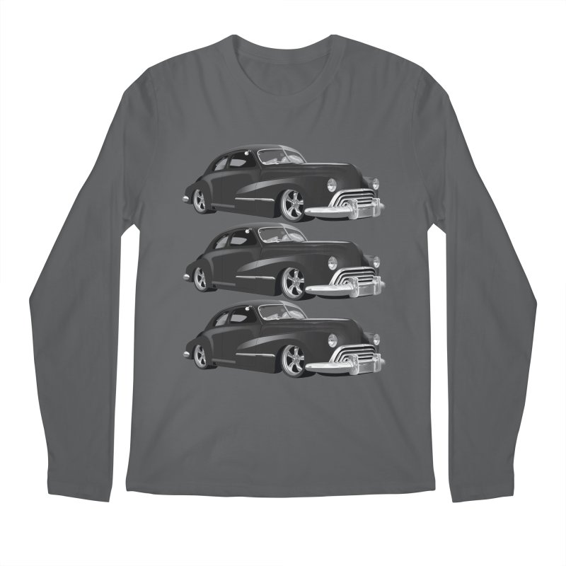 VOITURE-3 Men's Longsleeve T-Shirt by THE ORANGE ZEROMAX STREET COUTURE