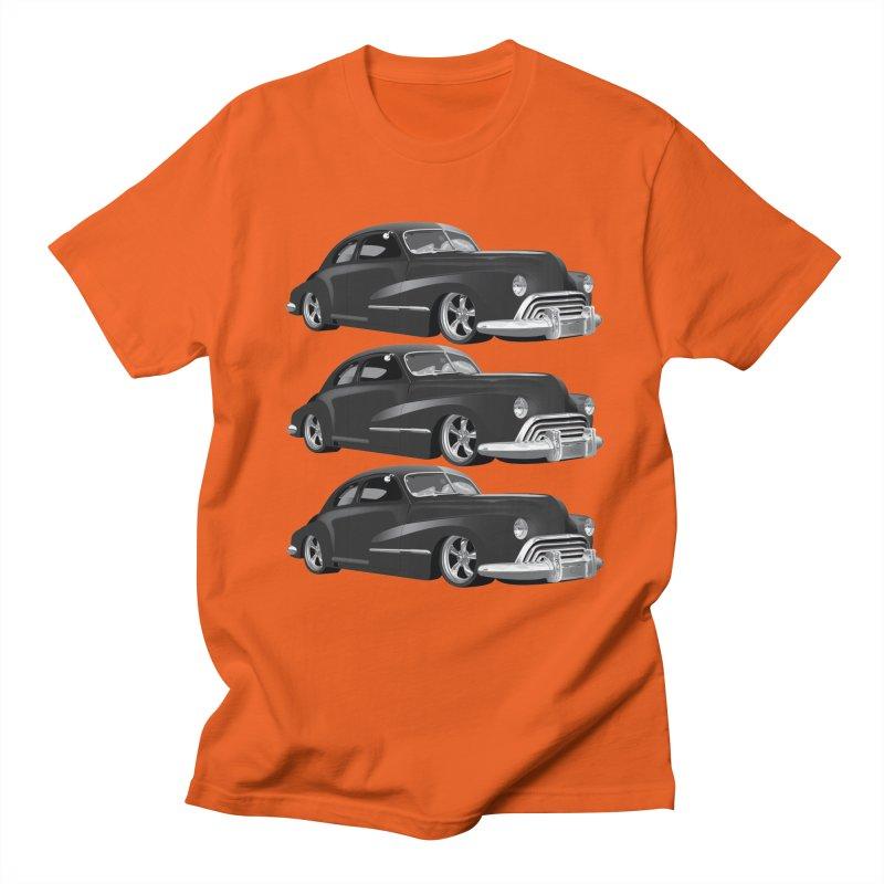 VOITURE-3 in Men's Regular T-Shirt Orange Poppy by THE ORANGE ZEROMAX STREET COUTURE
