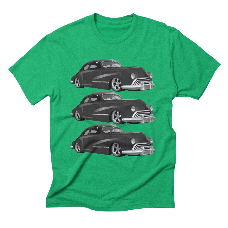 VOITURE-3 Men's Triblend T-Shirt by THE ORANGE ZEROMAX STREET COUTURE