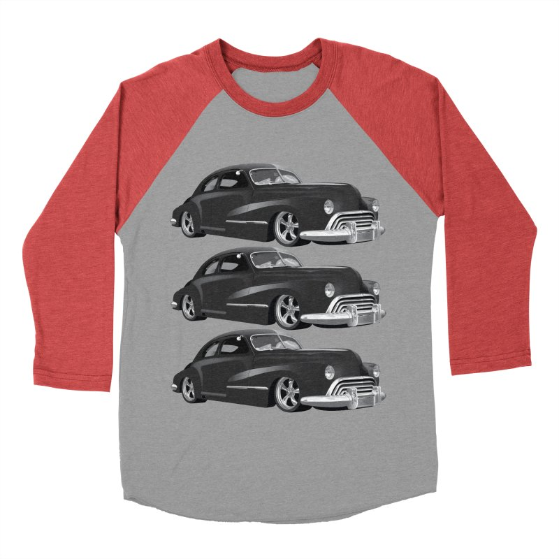 VOITURE-3 Women's Baseball Triblend T-Shirt by THE ORANGE ZEROMAX STREET COUTURE