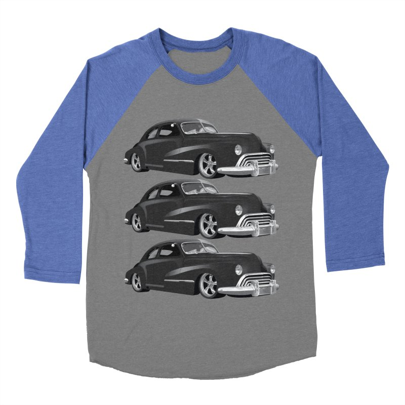 VOITURE-3 Men's Baseball Triblend T-Shirt by THE ORANGE ZEROMAX STREET COUTURE
