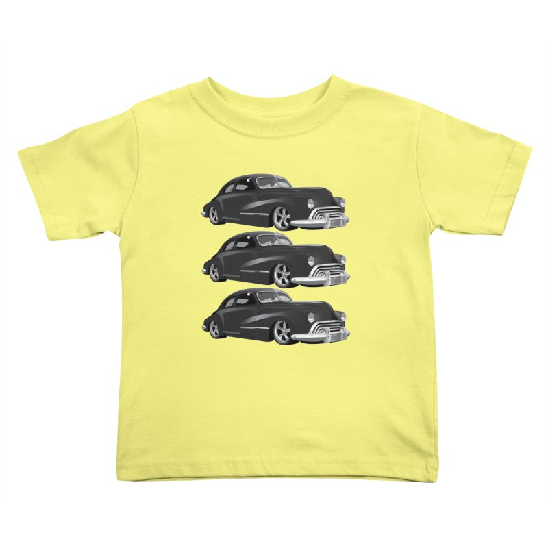 VOITURE-3 Kids Toddler T-Shirt by THE ORANGE ZEROMAX STREET COUTURE