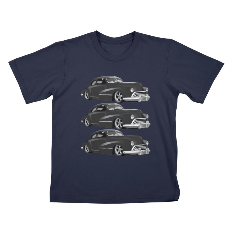 VOITURE-3 Kids T-Shirt by THE ORANGE ZEROMAX STREET COUTURE