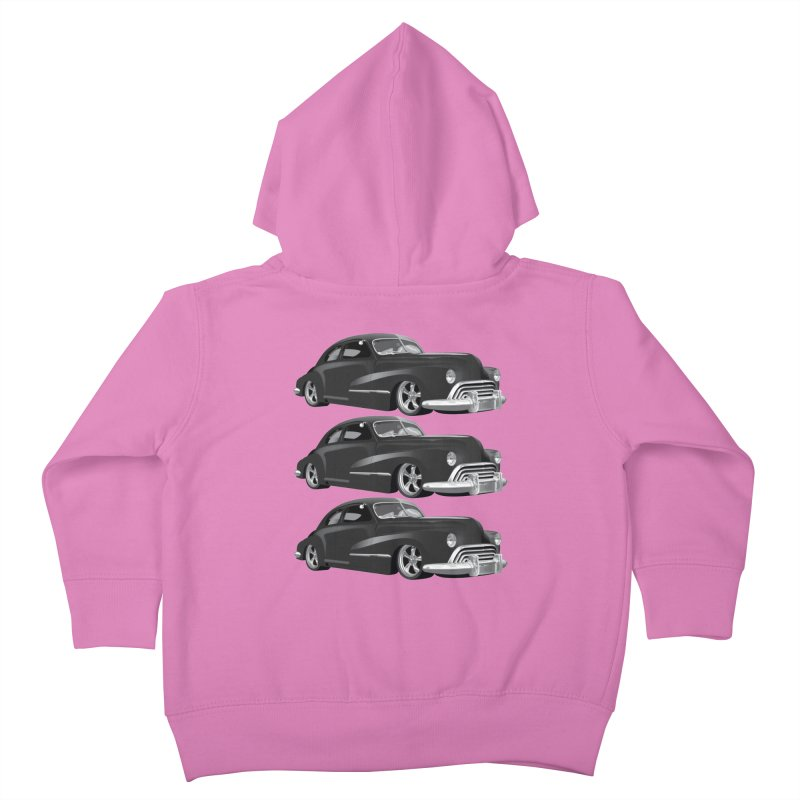 VOITURE-3 Kids Toddler Zip-Up Hoody by THE ORANGE ZEROMAX STREET COUTURE