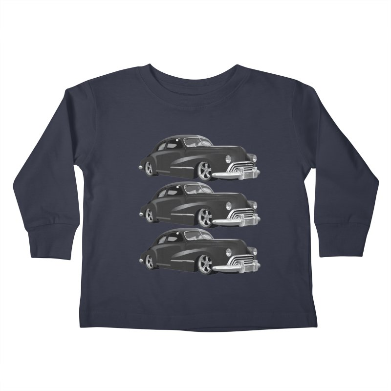VOITURE-3 Kids Toddler Longsleeve T-Shirt by THE ORANGE ZEROMAX STREET COUTURE