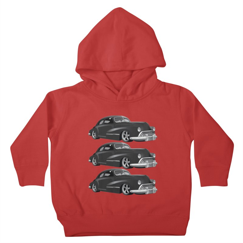 VOITURE-3 Kids Toddler Pullover Hoody by THE ORANGE ZEROMAX STREET COUTURE
