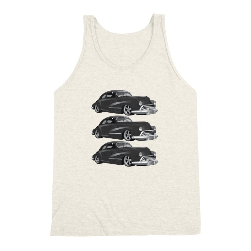 VOITURE-3 Men's Triblend Tank by THE ORANGE ZEROMAX STREET COUTURE